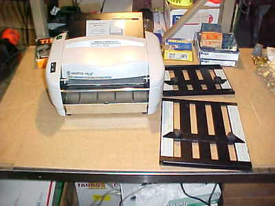 1) **NEW** Martin Yale, 7400. Rapidfold Autofolder - P7400. Missing a few parts.