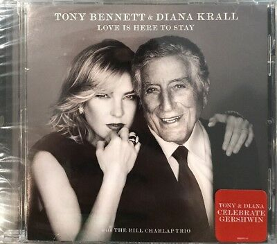 Tony Bennett/Diana Krall - Love Is Here To  Stay * Brand New - FREE SHIPPING