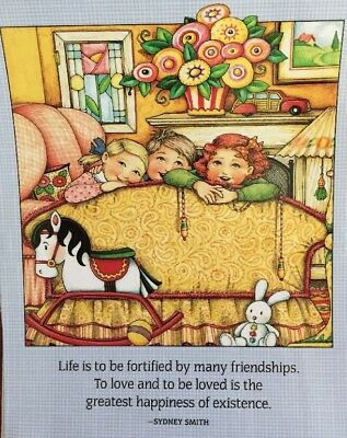 Mary Engelbreit Artwork-Life Is To Be Fortifued-Laminated  Print