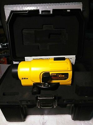 Dewalt DW096 26x Heavy Duty Auto Level W/ Case - Automatic Optical Leveler Tool
