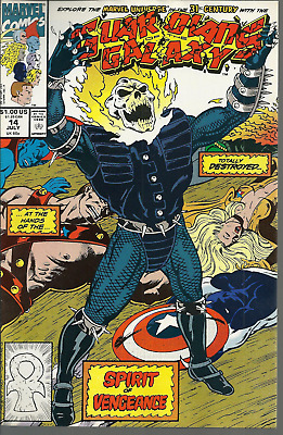 Guardians of The Galaxy #13, 14 | VF/NM 1991 1st Cosmic Ghost Rider