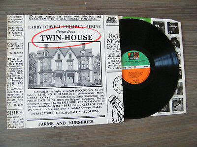 Lp 12' Larry Coryell & Philip Catherine - Twin House / Mint- (Atl 50 342)