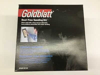 Dust Free Sanding Kit By Goldblatt