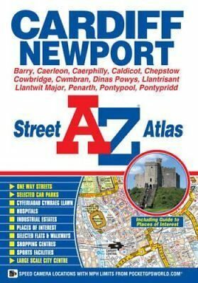 Cardiff & Newport Street Atlas by Geographers' A-Z Map Company 9781843488668