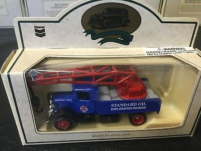 Lledo Chevron Die Cast Standard Oil Well Repair Truck Commemorative Model