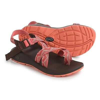 1eaaaf7f55bc5 CHACO WOMEN'S Z2 Z/2 Classic Sport Sandals Beaded Rose Coral Orange Size 6