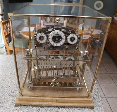Congreve Fusee Rolling Ball Clock Vintage
