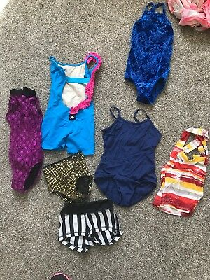 Girls Dancewear Details Jo&Jax Competition Leotard Top Bottoms unitard Lot