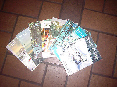 Vintage 1965 Ford Times Magazine  InComplete Lot of 8 missing feb june sept oct