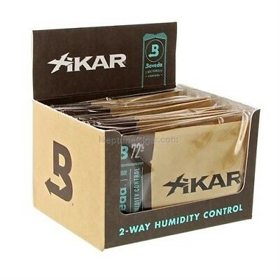 Lot of 4 Boveda XIKAR 72% 2-Way Humidity Control Pack 60 gram