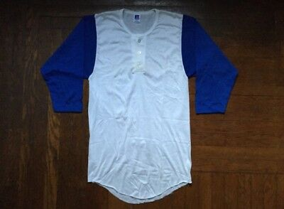 vintage russell athletic baseball tee mens size medium deadstock NWOT 90s