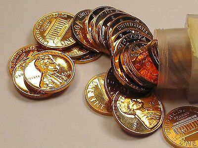 1959    Lincoln  Wheat  Proof  Roll > 50  Red Coins<  #924  40
