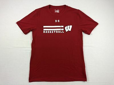 NEW Under Armour Wisconsin Badgers - Short Sleeve Shirt (Multiple Sizes)
