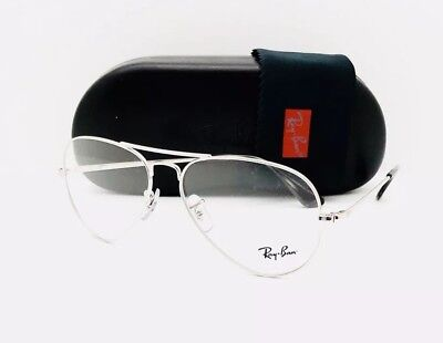 3a6123146ec New RayBan Eyeglasses RB 6489 2501 Silver 55•14•140 With Original Case