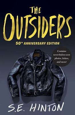 The Outsiders by S. E. Hinton (2016, Hardcover, Anniversary)