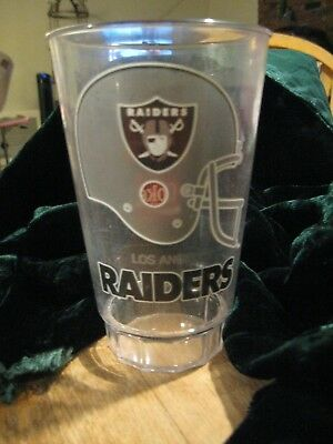 vintage McDonald's Coca-Cola Los Angeles Raiders Plastic Cup