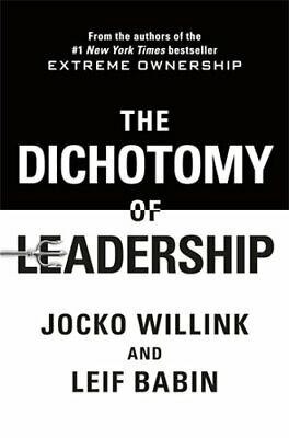 NEW The Dichotomy of Leadership By Jocko Willink Paperback Free Shipping