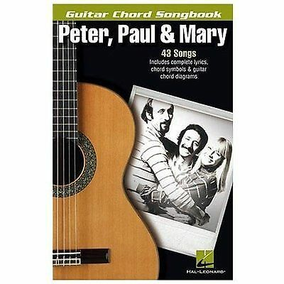 Peter Paul Mary Guitar Chord Songbook English Paperback Book