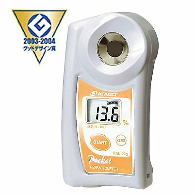 ATAGO Pocket Soy Milk Refractometer/ Concentration Meter PAL-27S From From japan