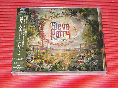 2018 JAPAN SHM CD STEVE PERRY Journey  TRACES  WITH BONUS TRACKS