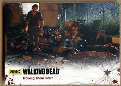 Mowing The Down #12 The Walking Dead Season 4 Pt 1 Cryptozoic 2016 Card (C1695)