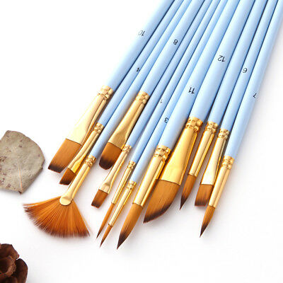 Artist Paint Brushes Watercolor Pen Set Acrylic Oil Painting Face Paints Craft