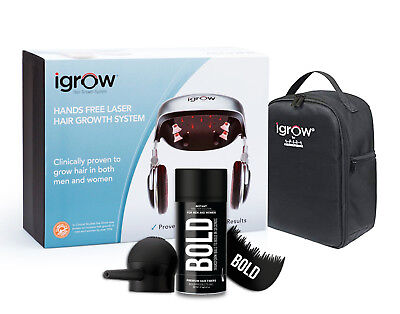 NEW iGrow Laser LED Light Therapy Home Hair Loss Regrowth Rejuvenation System
