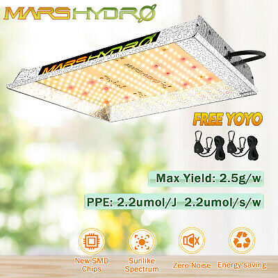 MarsHydro ECO 300W Led Grow Light Full Spectrum  Hydroponic Indoor Blumen Gemüse