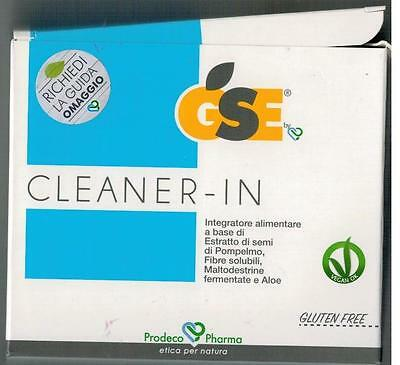 GSE CLEANER IN 14 bustine monodose da 5,45 g.