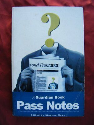 Pass Notes By Stephen Moss