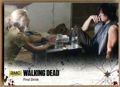 First Drink #55 The Walking Dead Season 4 Pt 1 Cryptozoic 2016 TradeCard (C1695)