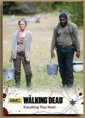 Everything They Need#64 The Walking Dead Season4 Pt 1 Cryptozoic 2016 Card C1695