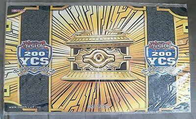 Gold Sarcophagus 200th YCS participation playmat (Utrecht) - sealed Yugioh mat