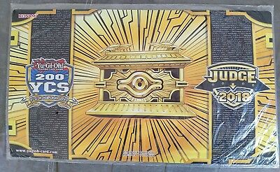 Gold Sarcophagus 200th YCS Judge Playmat (Utrecht) - Sealed Yugioh Game Mat