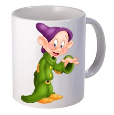 dopey Snow White and the Seven Dwarfs Personalised  Mug