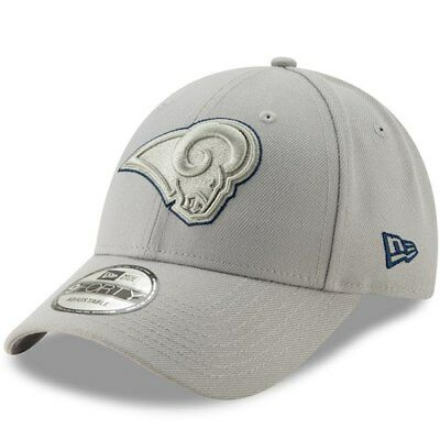 timeless design 8ac24 58723 ... nfl 4th down 9forty cap 20976200 2018 new style fc798 3f7f6  clearance los  angeles rams new era tempo 9forty adjustable snapback hat gray 64473 a06e5