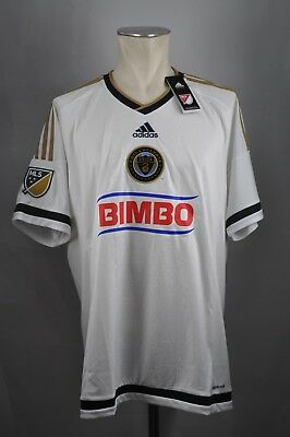 Philadelphia Union USA Trikot Away MLS adidas NEU Bimbo Gr. XXL 2XL Jersey