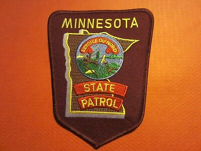 Collectible Minnesota State Patrol Patch, New