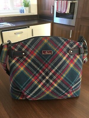 Ness Scotland Tartan Bag Shoulder Across Body Used Once