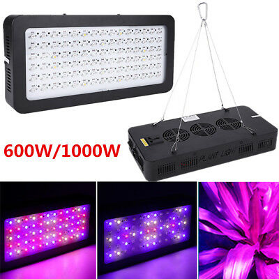 600W 900W Full Spectrum Hydro LED Grow Light For Medical Plants Veg Bloom Indoor