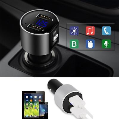 Wireless USB Car Bluetooth FM Transmitter Radio Adapter Charger W/ MP3 Player UK