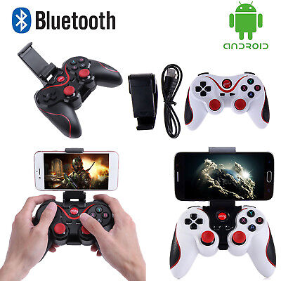 T3 Gamepad Game Controller Joystick Wireless Bluetooth USB für iOS Android PC