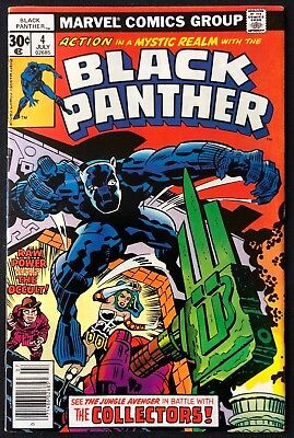 Black Panther #4 1977 Kirby Great Condition