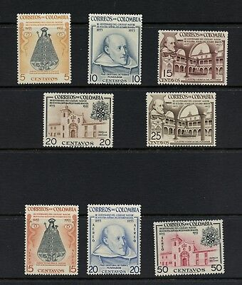 N675  Colombia 1954  Our Lady of the Rosary College   8v.  MNH