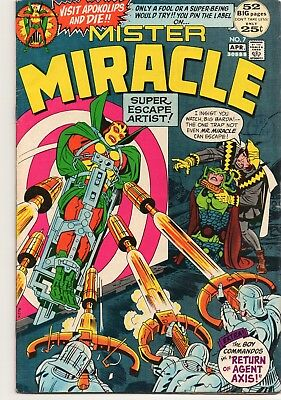 MISTER MIRACLE 7 - Mar/Apr 1972. Jack kirby's Forth World. FN/VF (7.0)