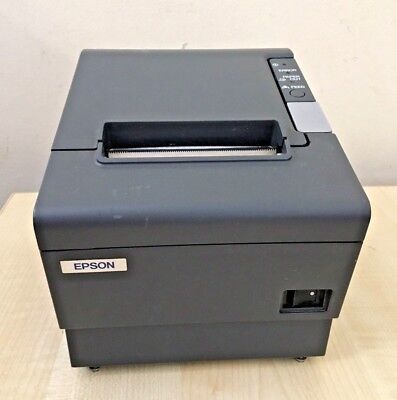 Epson Tm-T88Iv Thermal Serial Receipt Printer Model M129H - Dark Grey - No Psu