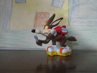 Wile E. Coyote with Acme Rocket Pack and Skates PVC figure 1988 Applause