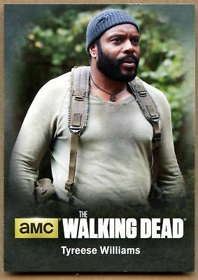 Tyreese Williams#C08 The Walking Dead Season4 Pt1 Character Bio Chase Card C1698