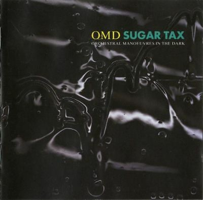 OMD sugar tax (CD, album, 1991) synth pop, orchestral manoeuvres in the dark