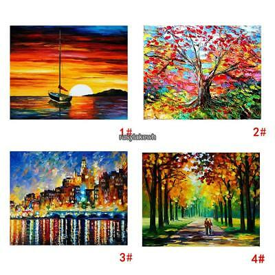 Modern Frameless Canvas Oil Print Painting Picture Home Wall Art Decor Favors
